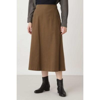 HUMAN WOMAN / ◆ライトモールスキンスカート