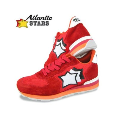 2000円OFF対象/アトランティックスターズ Atlantic STARS メンズ スニーカー ANTARES FR 85B レッド系/セール
