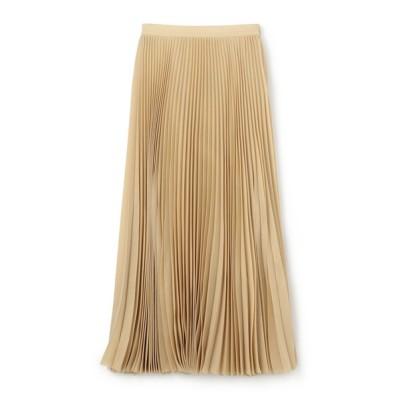 スカート ESTNATION / アコーディオンプリーツロングスカート