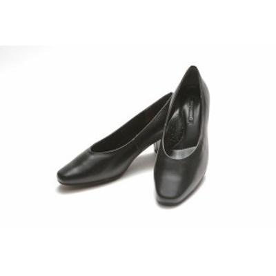 ゴールデンフット レディースシューズ 101 3E 5cmヒール プレーン パンプス リクルート 冠婚葬祭 婦人靴