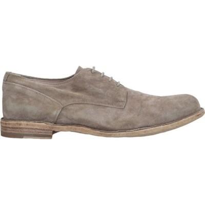 オフィチーネ クリエイティブ OFFICINE CREATIVE ITALIA メンズ シューズ・靴 laced shoes Khaki