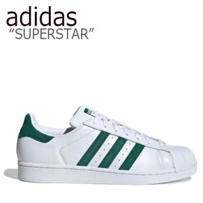 アディダス スーパースター スニーカー adidas メンズ レディース SUPERSTAR スーパースター WHITE GREEN ホワイト グリーン EE4473 シューズ
