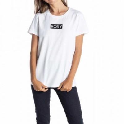ROXY ロキシー Tシャツ 半袖 レディース ロゴ トップス ホワイト 白 RST211068-WHT