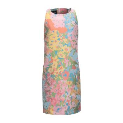 BOUTIQUE MOSCHINO ミニワンピース&ドレス ピンク 40 ポリエステル 100% ミニワンピース&ドレス