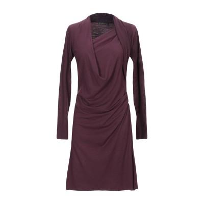 プレイン・スッド PLEIN SUD ミニワンピース&ドレス ディープパープル 40 バージンウール 91% / ポリウレタン 9% ミニワンピース