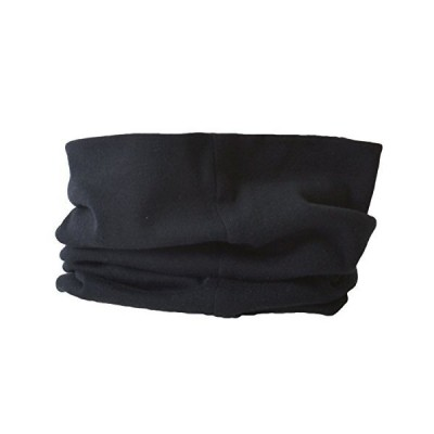 CHARM ネックウォーマー オーガニックコットン メンズ レディース [ フリーサイズ / ブラック ] 2way 日本製