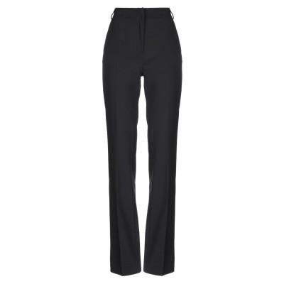 LANACAPRINA パンツ ブラック 40 ポリエステル 70% / レーヨン 30% パンツ