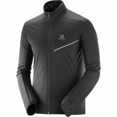 サロモン Salomon メンズ アウター ランニング・ウォーキング RS Soft-Shell Jacket black