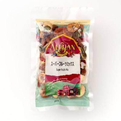 【送料無料(メール便)】スーパーフルーツミックス, 100gアリサン ALISHAN alishan