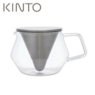 キントー (KINTO) カラット (CARAT) ティーポット 850ml 21681 耐熱ガラス 紅茶 (電子レンジ可)(送料無料)(W)(配送日指定)