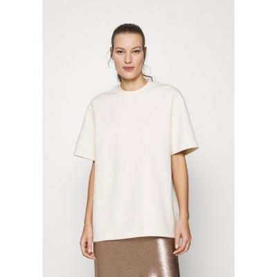 サムスサムス Tシャツ レディース トップス LIONELLE - Basic T-shirt - eggnog