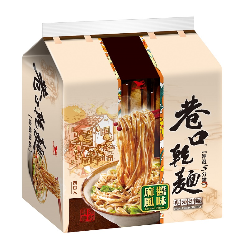 巷口乾麵麻醬風味(袋) 100g