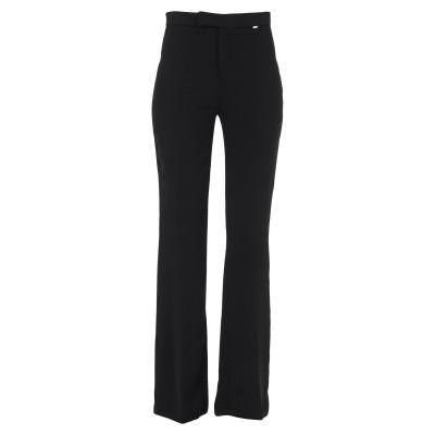 NUALY パンツ ブラック 38 ポリエステル 100% パンツ