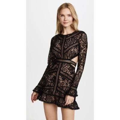 フォーラブアンドレモン For Love & Lemons レディース ワンピース ワンピース・ドレス Emerie Cutout Dress Black