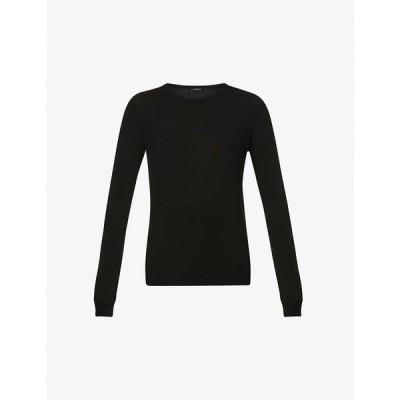 ジョゼフ JOSEPH レディース ニット・セーター トップス Long-sleeved merino wool jumper Black