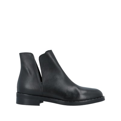 COUTURE ショートブーツ ブラック 36 牛革(カーフ) ショートブーツ