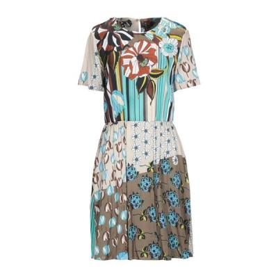 MANILA GRACE チューブドレス  レディースファッション  ドレス、ブライダル  パーティドレス ターコイズブルー