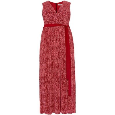 スタジオ8 Studio 8 レディース ワンピース ワンピース・ドレス Faye Plisse Maxi Dress Red
