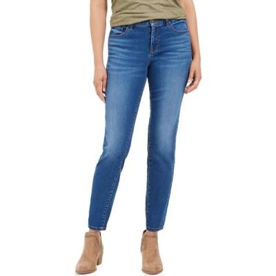 スタイル&コー Style & Co レディース ジーンズ・デニム ボトムス・パンツ Curvy-Fit Skinny Jeans, Regular, Short and Long Lengths Deception