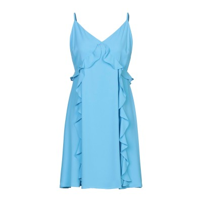 コッカ KOCCA ミニワンピース&ドレス スカイブルー XL ポリエステル 100% ミニワンピース&ドレス