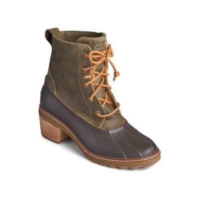スペリー レディース ブーツ・レインブーツ シューズ Saltwater Heel Fashion Boots