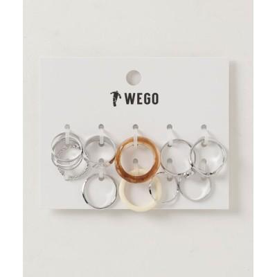 WEGO / WEGO/【10点セット】アクリルMIXセットリング WOMEN アクセサリー > リング