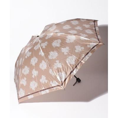 【ムーンバット】 LANVIN COLLECTION(ランバンコレクション)婦人折りたたみ雨傘 レディース ベージュ メーカー指定サイズ MOONBAT