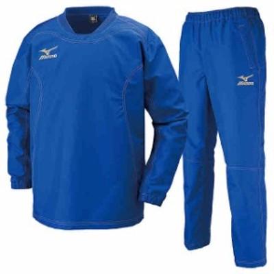 ミズノ タフブレーカーシャツ&パンツ 上下セット サーフブルー×サーフブルー  MIZUNO R2ME6002-25-R2MF6002-25