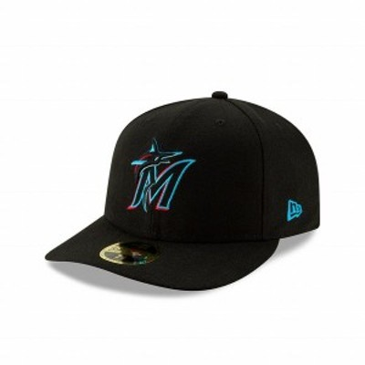 ニューエラ(NEW ERA) LP 59FIFTY MLBオンフィールド マイアミ・マーリンズ ゲーム 12506592