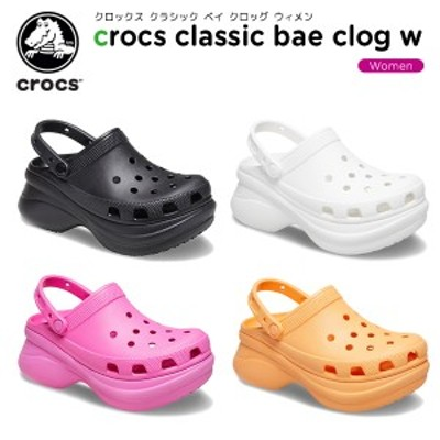 クロックス(crocs) クロックス クラシック ベイ クロッグ ウィメン (crocs classic bae clog w) レディース/厚底/サンダル/シューズ[C/B]