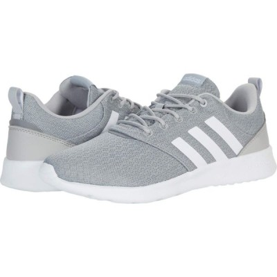 アディダス adidas Running レディース ランニング・ウォーキング シューズ・靴 QT Racer 2.0 Grey/White/Grey