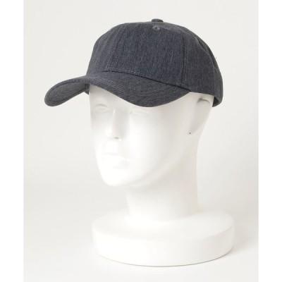 帽子 キャップ LACOSTE/ラコステ/recycle denim cap/リサイクルデニムキャップ