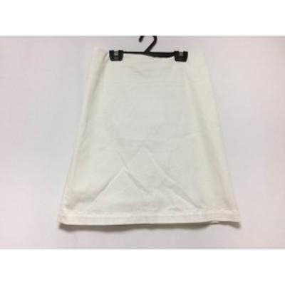 ルヴェルソーノアール Le verseaunoir スカート サイズ38 M レディース 白【中古】