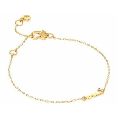 ケイトスペード レディース ブレスレット・バングル・アンクレット アクセサリー Say Yes Oui Bracelet Clear/Gold