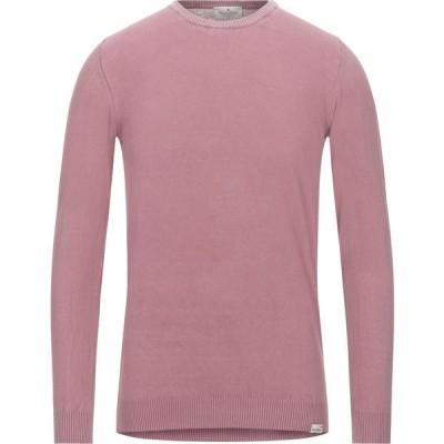 ブルックスフィールド BROOKSFIELD メンズ ニット・セーター トップス sweater Pastel pink