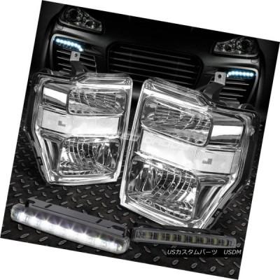 ヘッドライト クレアクリアシグナルヘッドライト+バンプ  ER + SMOKED LED FOGライト09-10 SUPERD