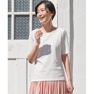 tシャツ Tシャツ 【S-LL】オーガニックコットンメロー5分袖