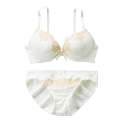 アラベスクブラジャー。ショーツセット(C65/M) (ブラジャー&ショーツセット)Bras & Panties