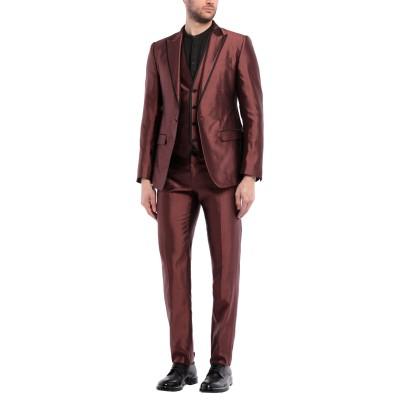 ドルチェ & ガッバーナ DOLCE & GABBANA スーツ ボルドー 58 シルク 100% スーツ