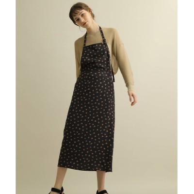 DRESSTERIOR(Ladies)(ドレステリア:レディース)/フルールプリントエプロン風ドレス