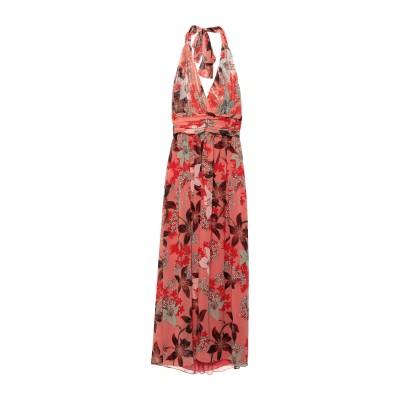 コッカ KOCCA ロングワンピース&ドレス コーラル L ポリエステル 100% / ナイロン ロングワンピース&ドレス