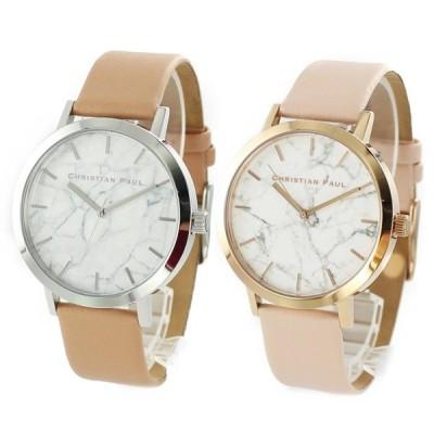 ペアBOX付き クリスチャンポール ペアウォッチ メンズ レディース 同サイズ おそろい MR-04MR-07 腕時計