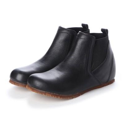 ユリコ マツモト yuriko matsumoto 春ブーツ ブーツ ショートブーツ サイドゴア 本革 日本製 外反母趾 (BL)