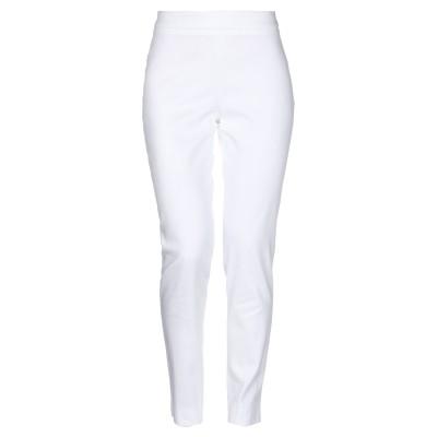 ARGONNE by PESERICO パンツ ホワイト 46 コットン 97% / ポリウレタン 3% パンツ