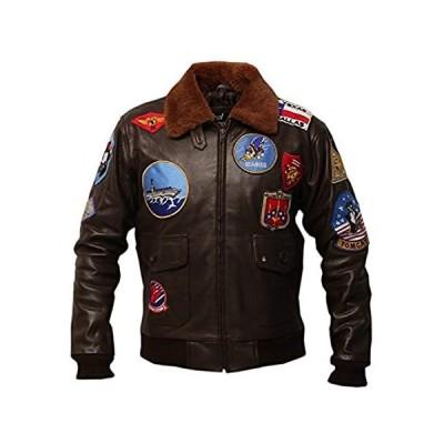 G1 Bomber 牛革 ジャケット US サイズ: X-Small カラー: ブラウン
