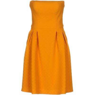HANITA ミニワンピース&ドレス あんず色 S ポリエステル 96% / ポリウレタン 4% ミニワンピース&ドレス