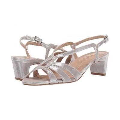 Walking Cradles ウォーキングクレイドル レディース 女性用 シューズ 靴 ヒール Leandra - Silver Sparkle Leather