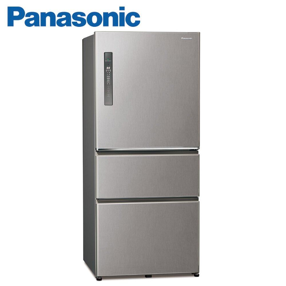 Panasonic國際牌610公升三門變頻冰箱(NR-C611XV-L)-絲紋灰