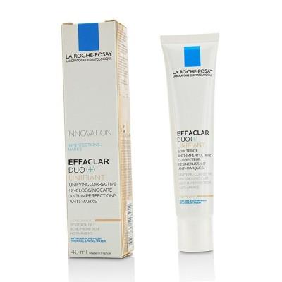 ラ ロッシュ ポゼ Effaclar Duo (+) Unifiant Unifying Corrective Unclogging Care Anti-Imperfections Anti-Mark