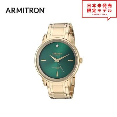 最安値挑戦中! ARMITRON アーミトロン メンズ 腕時計 リストウォッチ 20/5263GNGP ゴールド/グリーン 海外限定 時計 日本未発売 当店1年保証